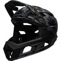 fahrrad/Mountainbikes: Bell  Super Air R Mips mattegloss  camo S