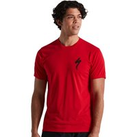 Bekleidung: Specialized  S-Logo Tee SS Men Flo Red L