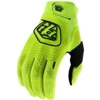 : Troy Lee Designs  Youth Air Glove Flo Yellow XS