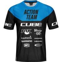 Bekleidung/Trikots: Cube  EDGE Rundhalstrikot kurzarm X Actionteam  S