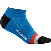 Bekleidung/Socken: Cube  Socke Low Cut Teamline 40-43
