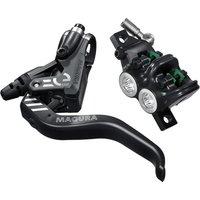ausrüstung/Bremsen: Magura  MT5 eSTOP 2-Finger Aluminium-Leichtbau-Hebel