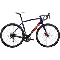 fahrrad: Trek  Domane AL 2 Disc Purple Abyss Black