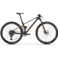 fahrrad: Mondraker  F-Podium Carbon Carbon - Orange - Nimbus Grey 2021 M