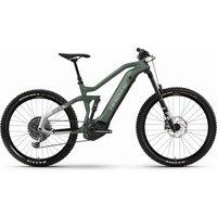 E-Bikes: Haibike  AllMtn 6 bamboo cool grey matte 2021 L
