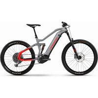 E-Bikes: Haibike  AllMtn 6 urban grey matte 2021 XL