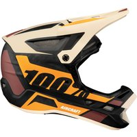 Bekleidung/Helme: 100percent 100% Aircraft DH carbon helmet MIPS Revburst L
