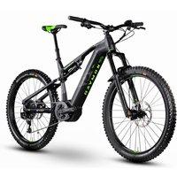 E-Bikes/E-Mountainbikes: Raymon Raymon E-SevenTrailRay LTD 1.0 Black  Grey  Green 2020
