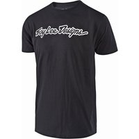 root category: Troy Lee Designs  Signature Tee BlackWhite XXL