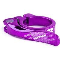 ausrüstung/Sattel: Sixpack  Sattelklemme MENACE x 31.8 purple
