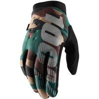 ausrüstung/Handschuhe: 100percent 100% Brisker Cold Weather Glove Camo Black S