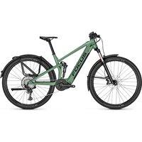 E-Bikes: Focus  Thron SQUARED 6.8 EQP Mineral Green