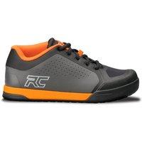 Bekleidung/Mountainbikes: Ride Concepts  Powerline Men's Shoe CharcoalOrange 44