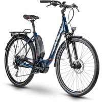 E-Bikes: Husqvarna  Eco City 3 Blue  Red Wave 2020 48 cm