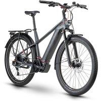 E-Bikes: Husqvarna  Gran Tourer 5 Anthracite  Black  Red Gent 2020