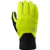 Bekleidung/Handschuhe: Specialized  Deflect Gloves Neon Yellow L