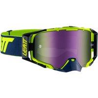 fahrrad/Mountainbikes: Leatt  Velocity 6.5 Goggle anti fog Mirror lens InkLime