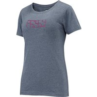Bekleidung: IXS  Brand Women Tee Celeste-Aqua Marine 38