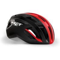 Bekleidung/Helme: MET Met Vinci MIPS Black Shaded Red Glossy S 52-56 cm