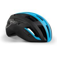 Bekleidung/Helme: MET Met Vinci MIPS Black Shaded Cyan Matt S 52-56 cm