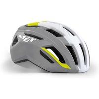 Bekleidung/Helme: MET Met Vinci MIPS Gray Safety yellow Glossy S 52-56 cm