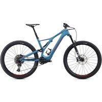E-Bikes: Specialized  Levo SL Comp Carbon Storm Grey  Rocket Red M