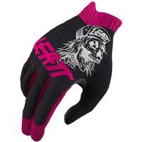 ausrüstung/Handschuhe: Leatt  Glove MTB 1.0 GripR 80's Skull S