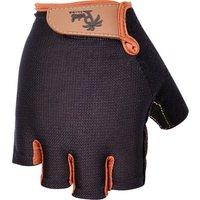 Bekleidung/Handschuhe: Pedal Palms  Kurzfingerhandschuh Black N Tan M