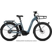 E-Bikes: Flyer  Gotour3 7.43 Pigeon Blue Gloss 20.1Ah 2021 LXL