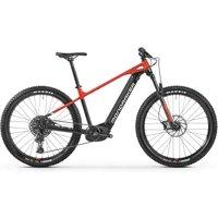 E-Bikes/E-Mountainbikes: Mondraker  Prime 29 Black - Flame Red - White 2021