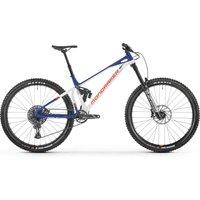 fahrrad: Mondraker  Superfoxy Dirty White - Deep Blue - Orange 2021 M
