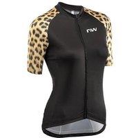 Bekleidung: Northwave  Wild Woman Jersey Short Sleeve Blk XL