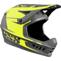 Bekleidung/Helme: IXS  XACT Evo helmet Lime-Graphite S-M