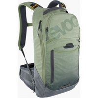 Bekleidung: Evoc  Trail Pro 10 Light OliveCarbon Grey SM