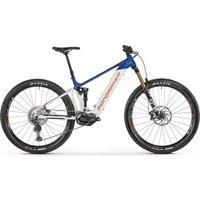 Fahrräder: Mondraker  Dusk RR 29 Dirty White - Deep Blue - Orange 2021 M