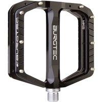 fahrradteile/Pedale: Burgtec  Penthouse Flat Pedale MK5 Stahlachse Black