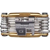 Fahrradteile: CRANKBROTHERS Crankbhers Multi-17 Multitool gold