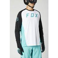 Bekleidung: FOX Fox Langärmliges Jersey Defend white S