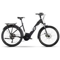 Fahrräder: Raymon Raymon CrossRay E 6.0 Black  White Matt Wave 2021 XS