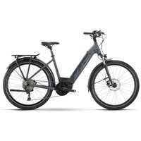 Fahrräder: Raymon Raymon TourRay E 6.0 Black  Darkgrey Matt Wave 2021 XS