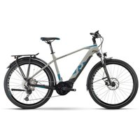 Fahrräder: Raymon Raymon TourRay E 7.0 Grey  Black  Space Matt Gent 2021 S