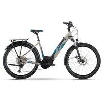 Fahrräder: Raymon Raymon TourRay E 7.0 Grey  Black  Space Matt Wave 2021 L