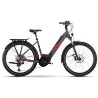 Fahrräder: Raymon Raymon TourRay E 8.0 Darkgrey  Black  Red Matt Wave 2021 S