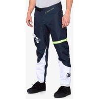 Bekleidung: 100percent 100% R-Core DH Pant Dark Blue  Yellow 34