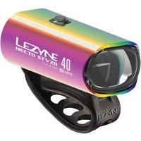 Fahrradteile: LEZYNE Lezyne LED Fahrradbeleuchtung Hecto Drive 40 StVZO Vorderlicht neo metallic