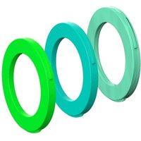 fahrradteile: Magura  Blenden-Ring Kit für Bremszange 2 Kolben Zange ab MJ2015 ( cyan mint)