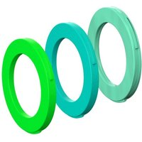 fahrradteile: Magura  Blenden-Ring Kit für Bremszange 4 Kolben Zange ab MJ2015 ( cyan mint)