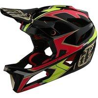 : Troy Lee Designs  Stage Helmet Mips Ropo PinkYellow XLXXL