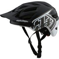 : Troy Lee Designs  A1 Helmet Mips Classic BlackWhite MDLG