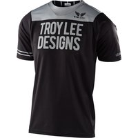 : Troy Lee Designs  Skyline SS Jersey Block BlackGray SM